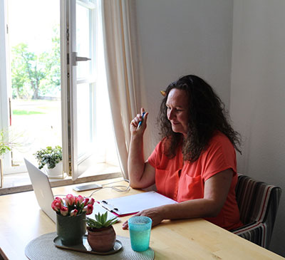 Claudia Dorn - Telefon- und Online-Videoberatung als akute Soforthilfe